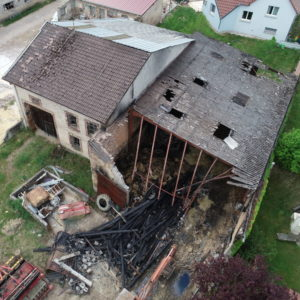 Inspection aérienne et expertise assurance par drone Vosges