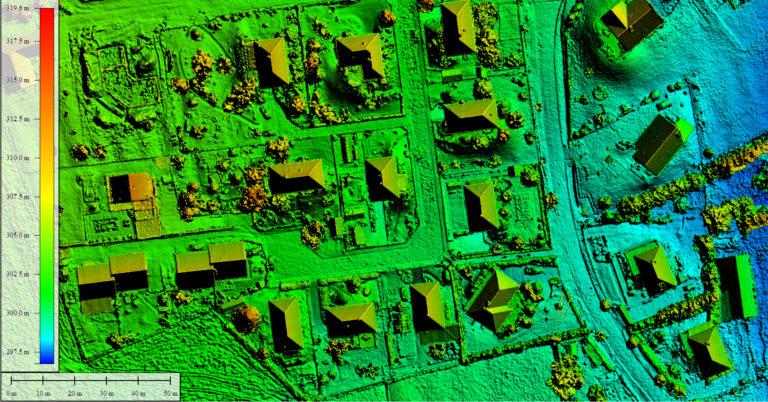 MNS centimétrique par drone Vosges