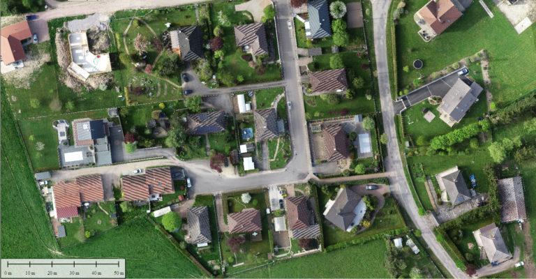 Cartographie centimétrique par drone Vosges